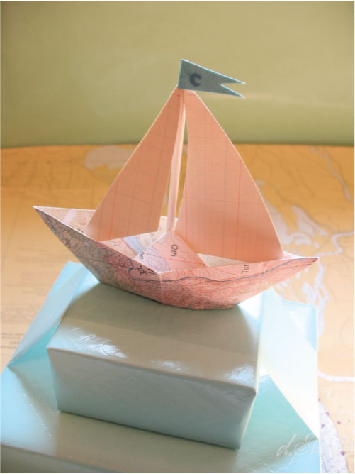 Фото кораблика из бумаги