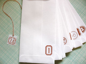 Adventenvelopes