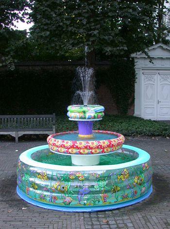 Paddling-pool-fountain
