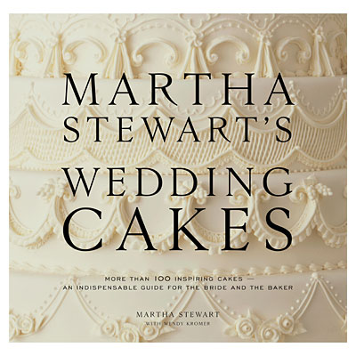 went to Powell 39s to pick up the new Martha Stewart 39s Wedding Cakes book